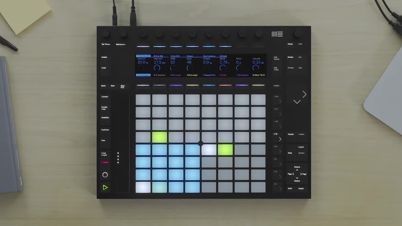 Ableton Push 2 功能介绍