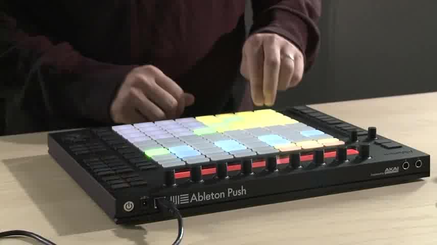 Push - 录音和建立循环旋律