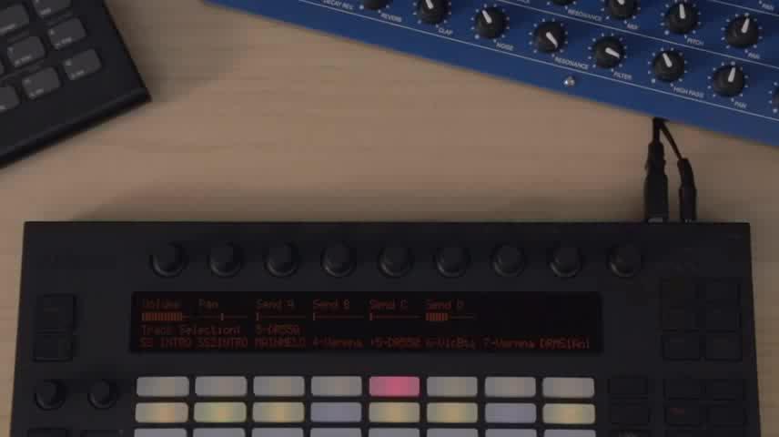Push - 演奏控制外置鼓声乐器