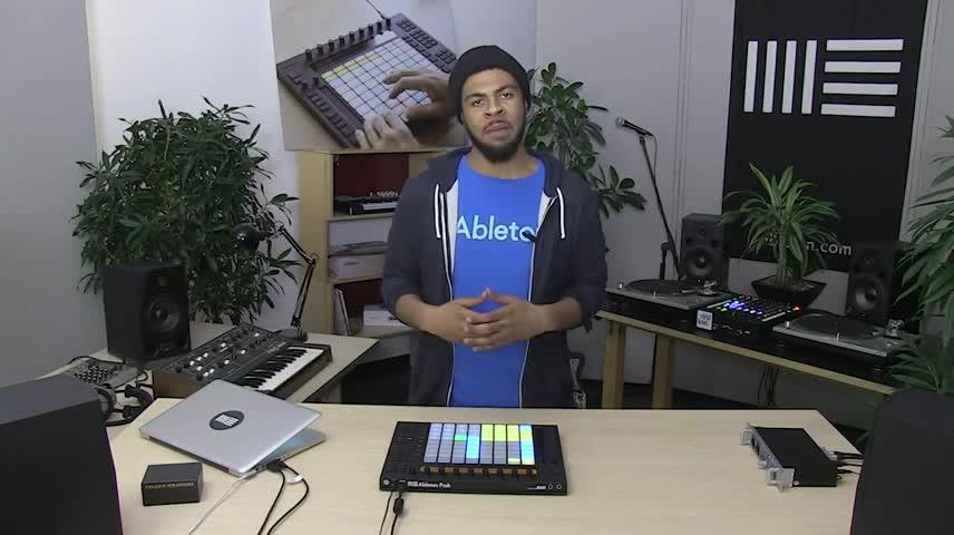 Push教程 - 4-扭曲和混音