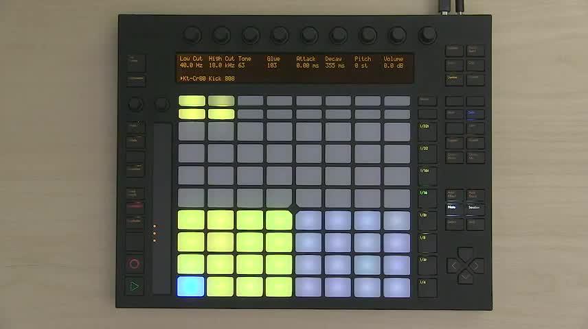 Ableton Push 1 Tutorial Part 5: Session Mode