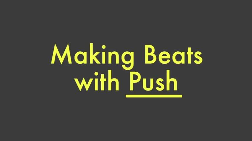 使用Push制作Beats