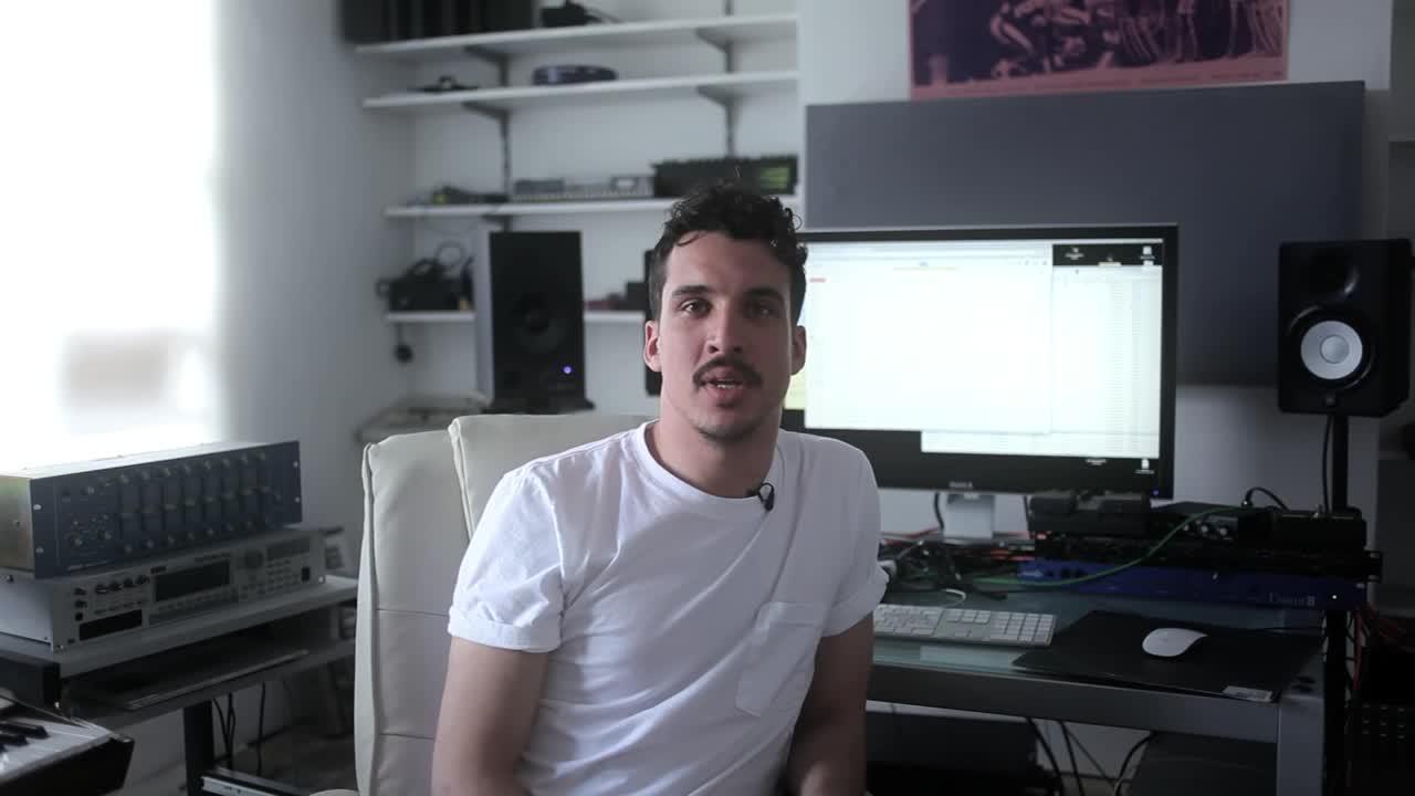 Dauwd 如何在十分钟内使用 Ableton Push + 硬件的 Set Up 完成一首歌的创作