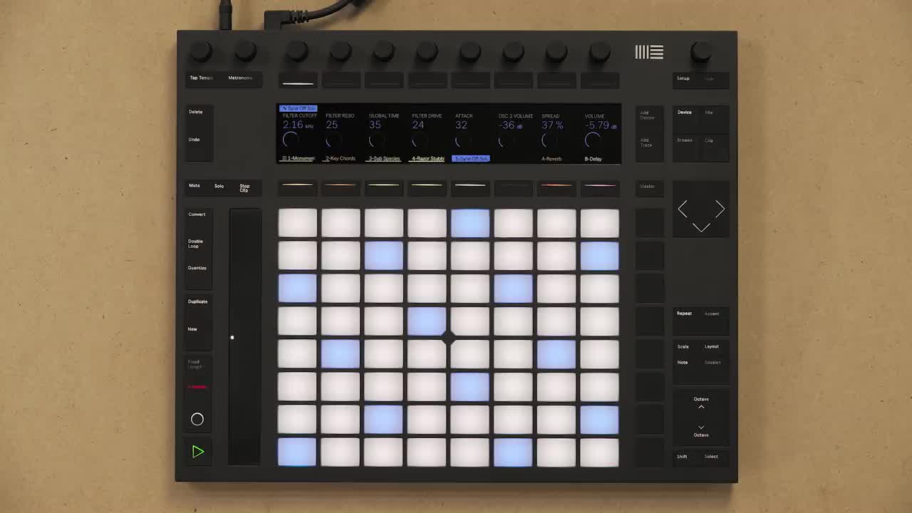Ableton Push 2+Live 10操作演示2