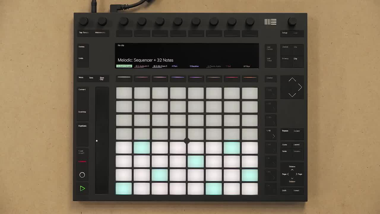 Ableton Push 2+Live 10操作演示3