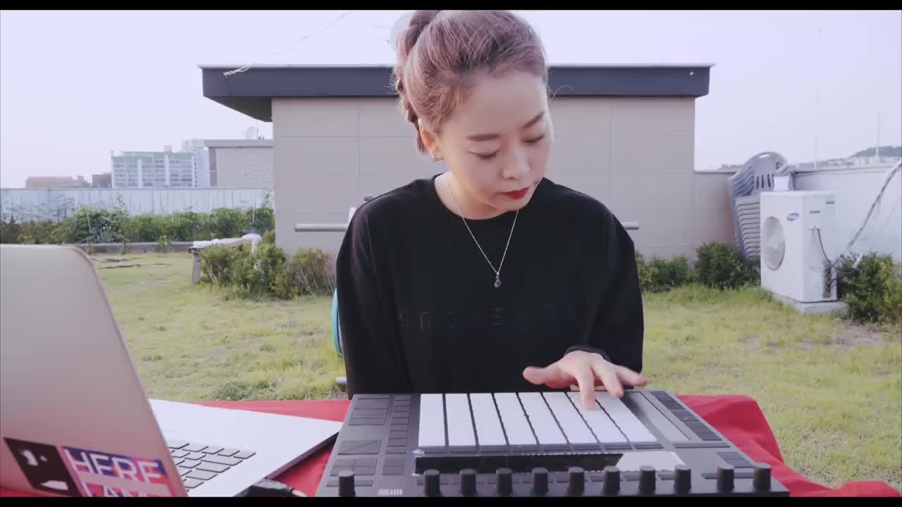 女神与Push2,韩国制作人SOWALL的演奏表演