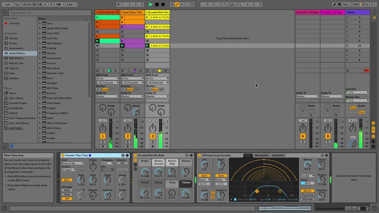 Ableton Live 10 - details