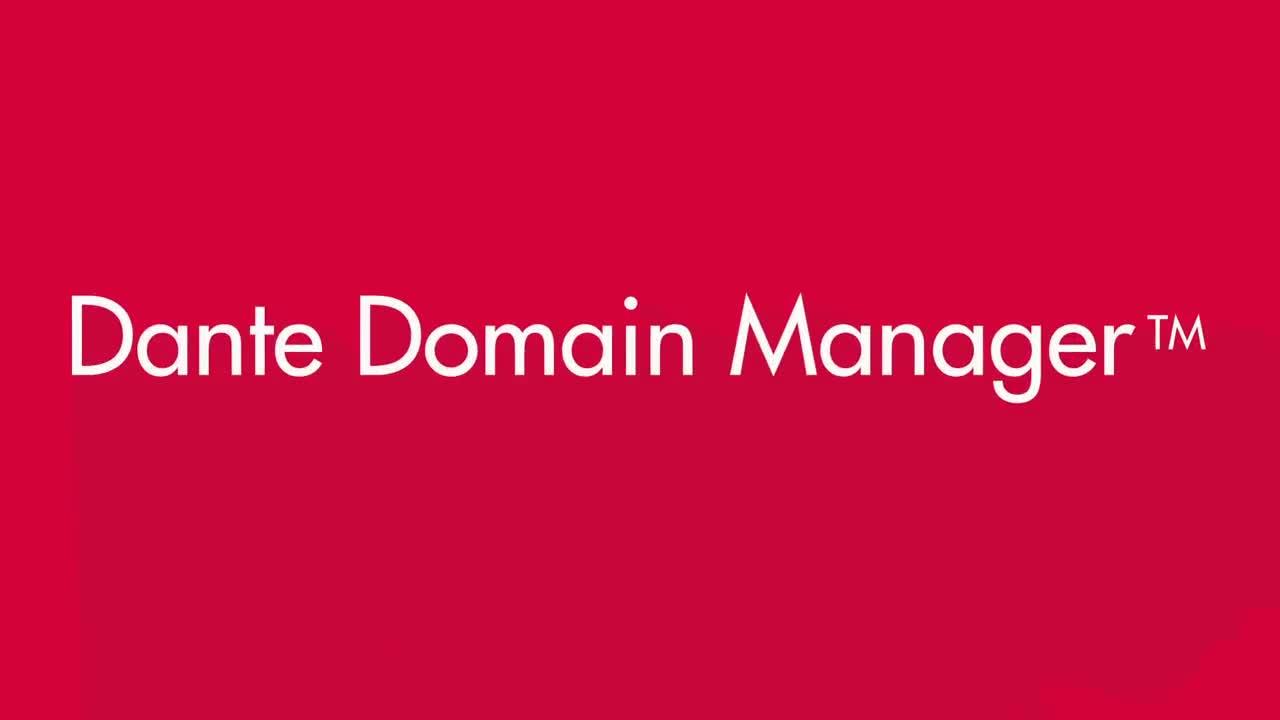 Dante Domain Manager 概述