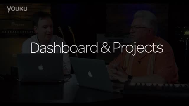 Avid Cloud Collaboration for Pro Tools - Dashboard & Projects