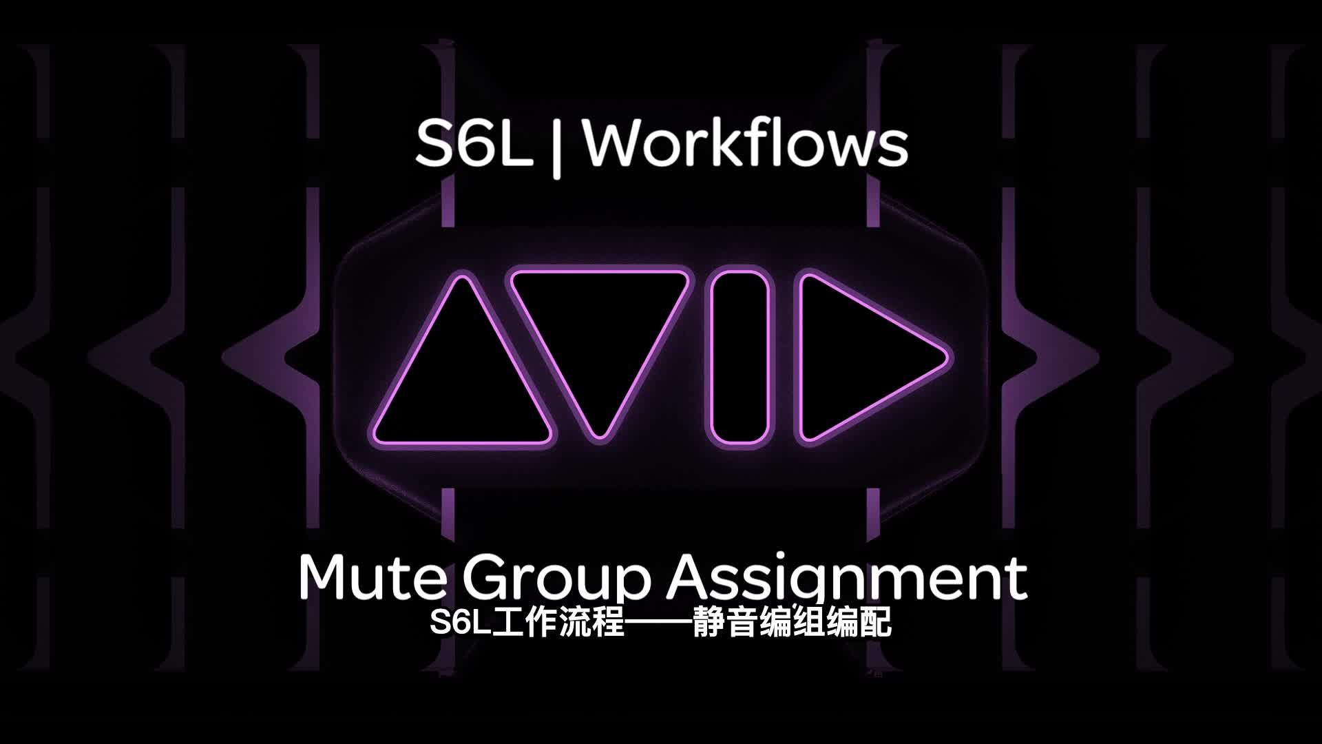 VENUE  S6L 操作流程系列视频8_静音编组编配