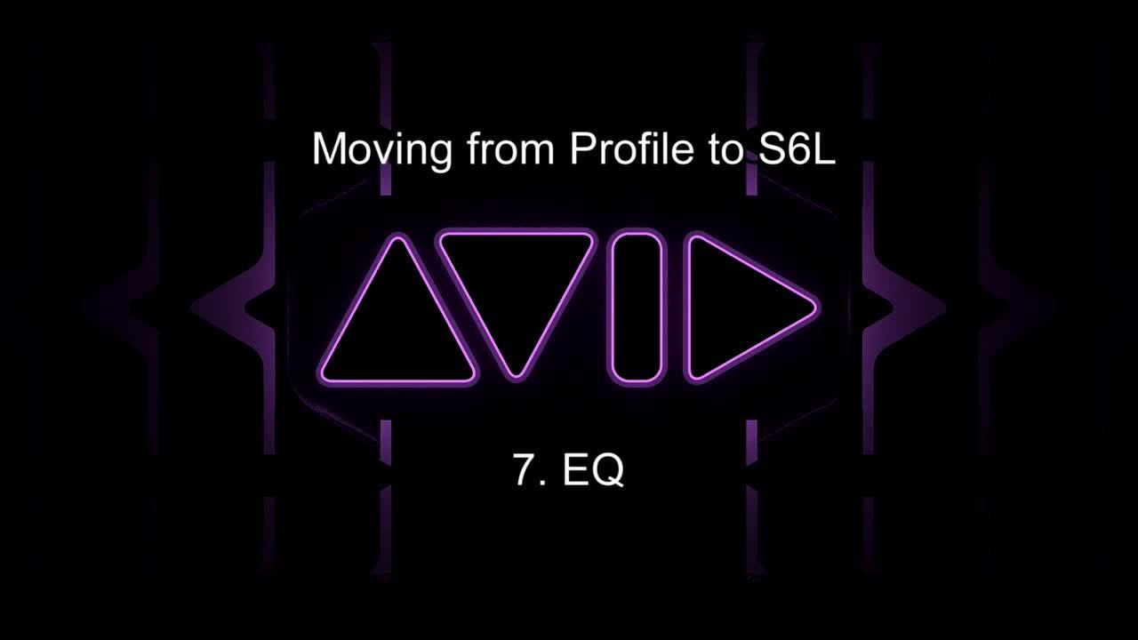 从Profile移至S6L-24C操控教学_ 7.均衡