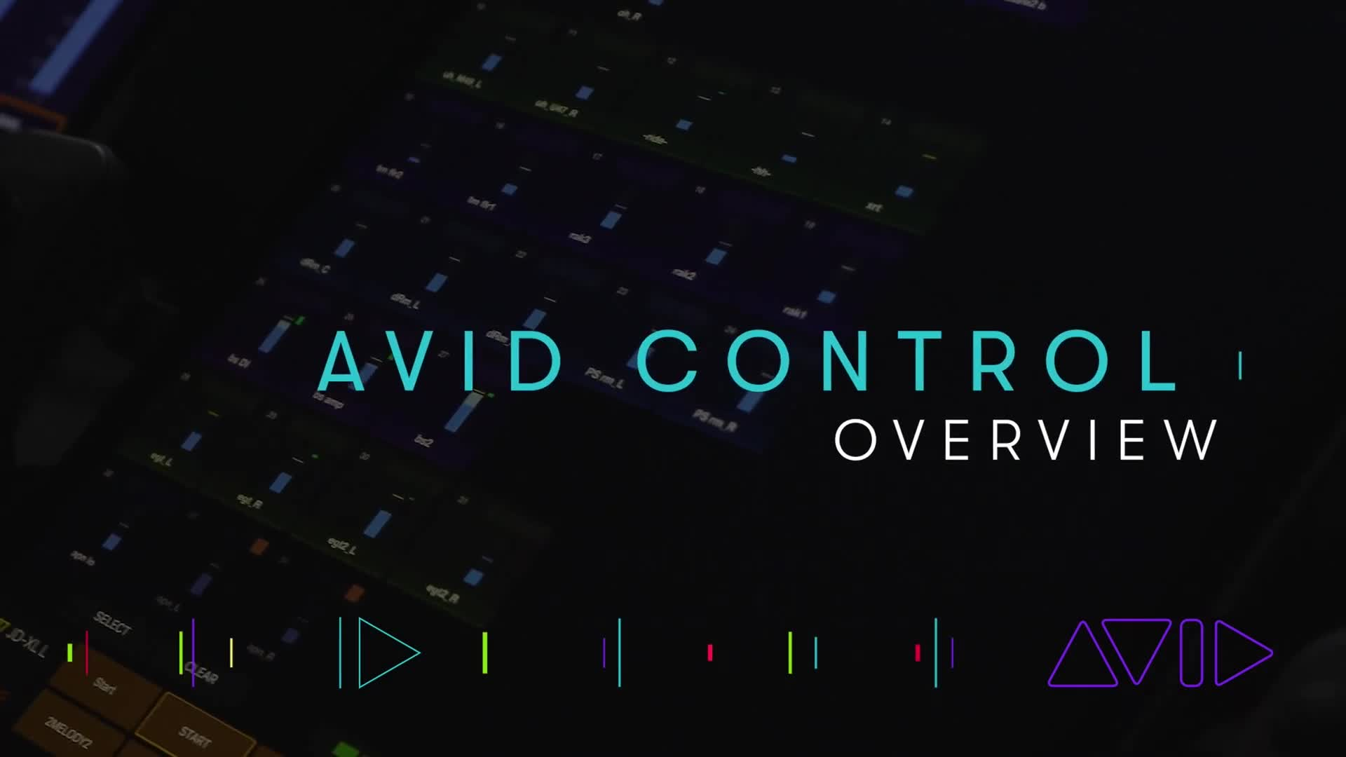 Avid Control – Overview