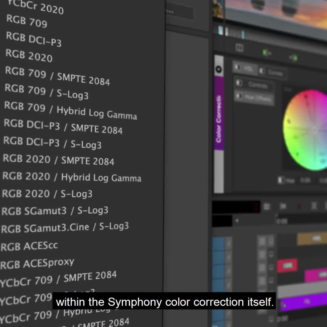 Media Composer – Colour Correction 1
