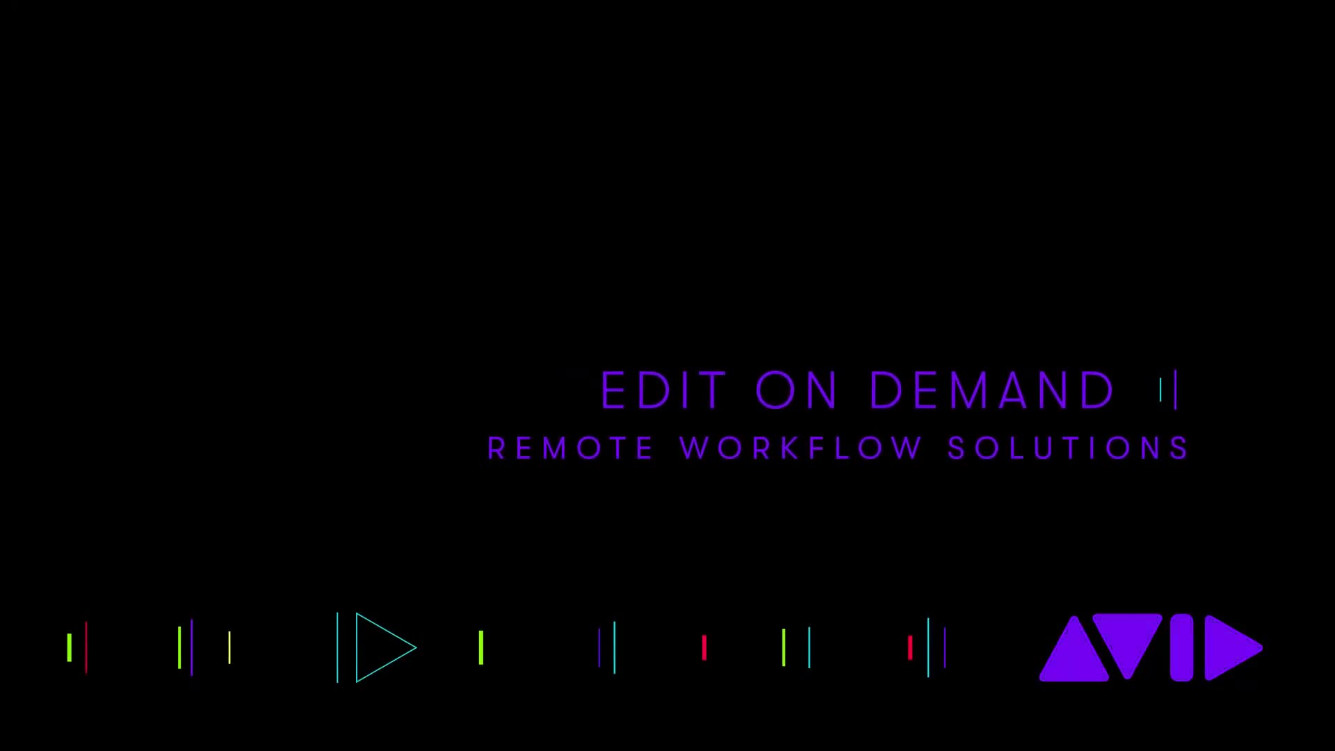 Avid | Edit On Demand — Remote Workflow Solutions