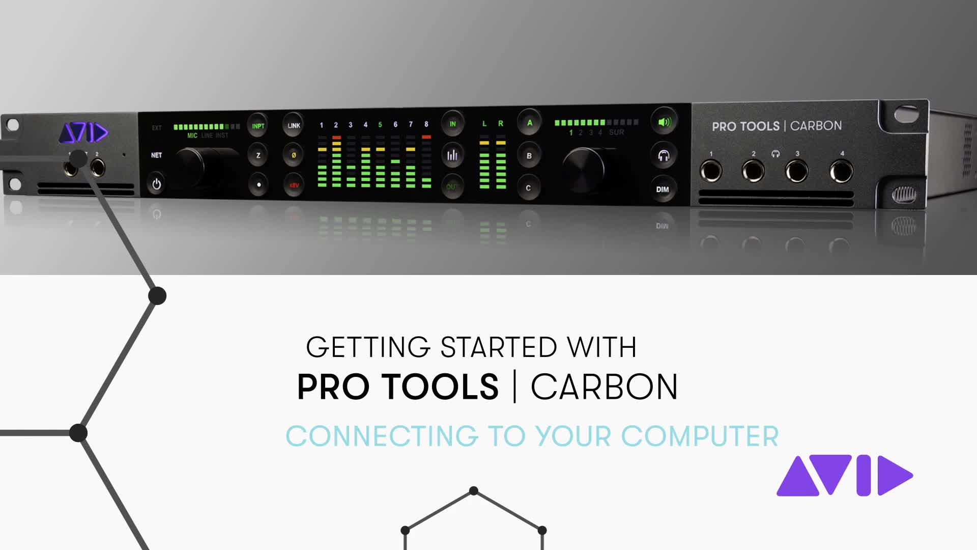 03 Pro Tools Carbon Getting Started - Connecting to Your Computer