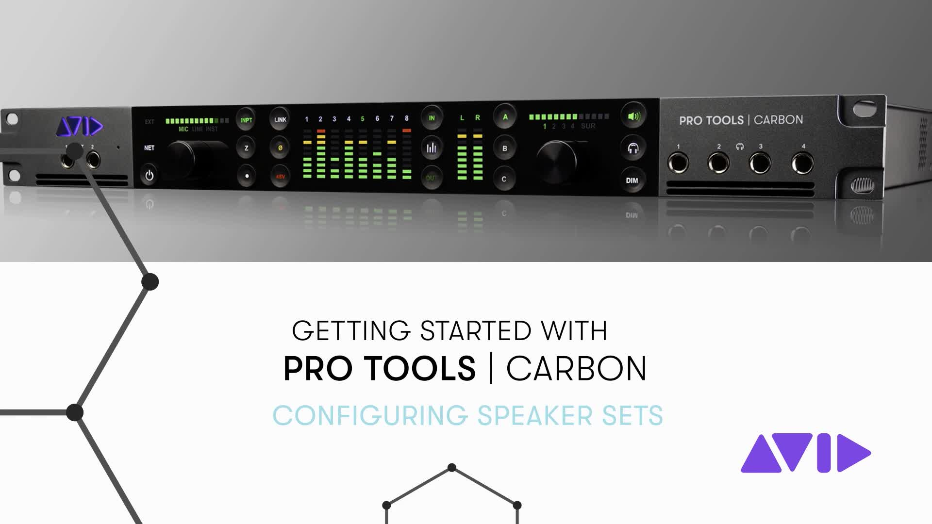 05 Pro Tools Carbon Getting Started - Configuring Speaker Sets