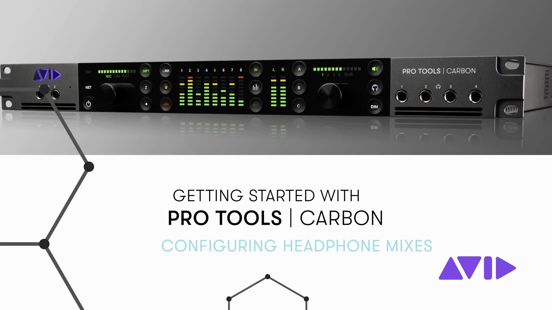 06 Pro Tools Carbon Getting Started - Configuring Headphone Mixes