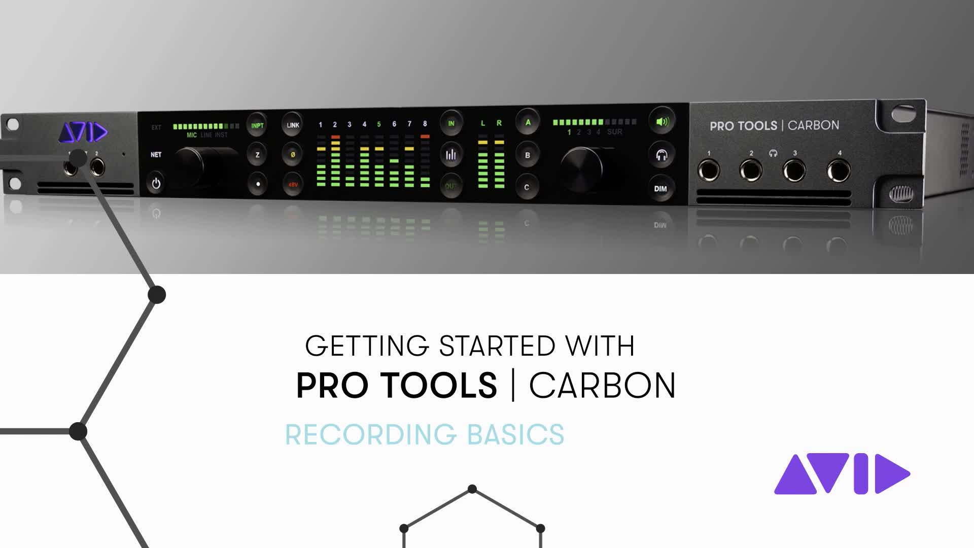 08 Pro Tools Carbon Getting Started – Recording Basics
