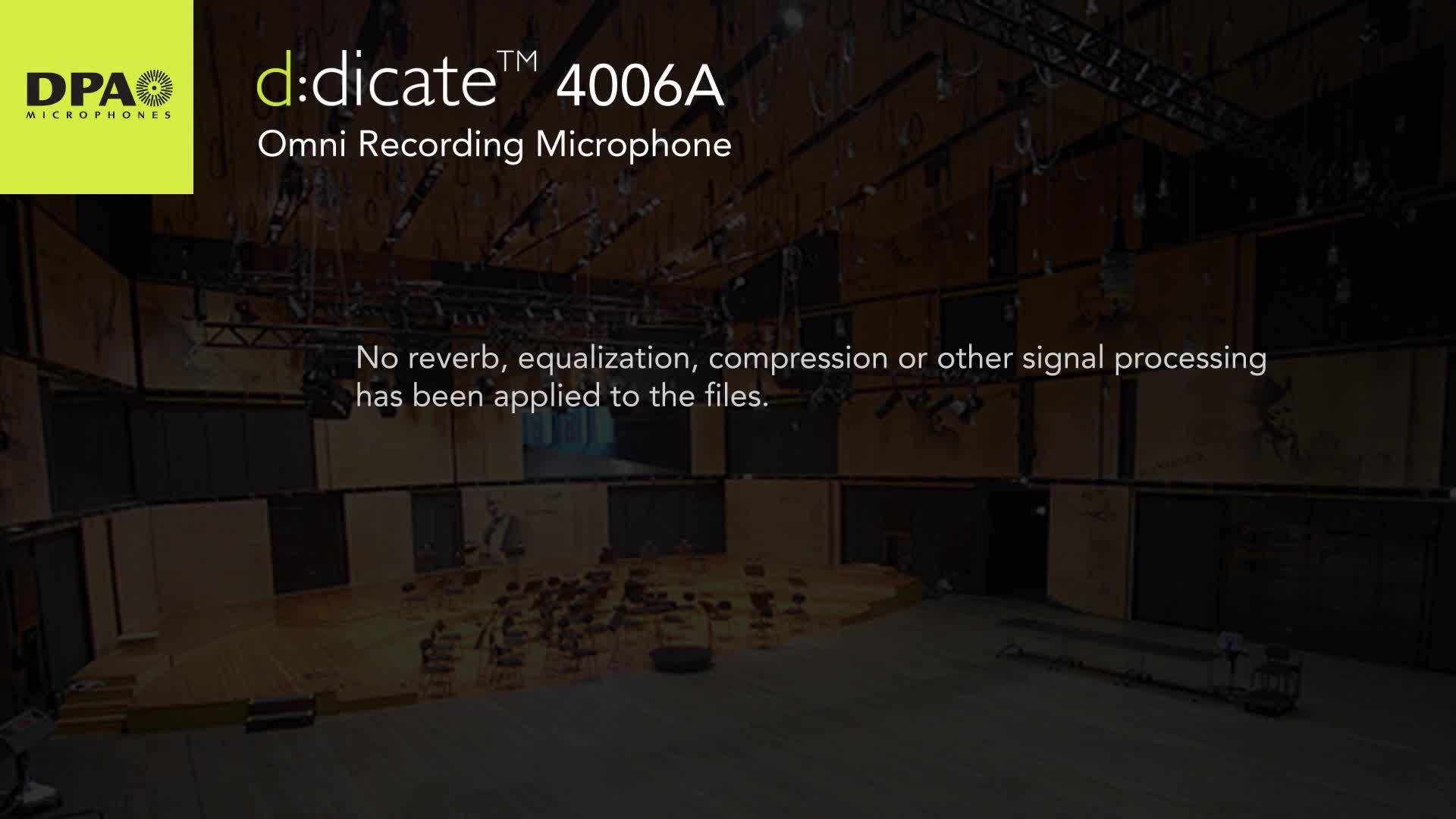4066A立体声AB录音模式