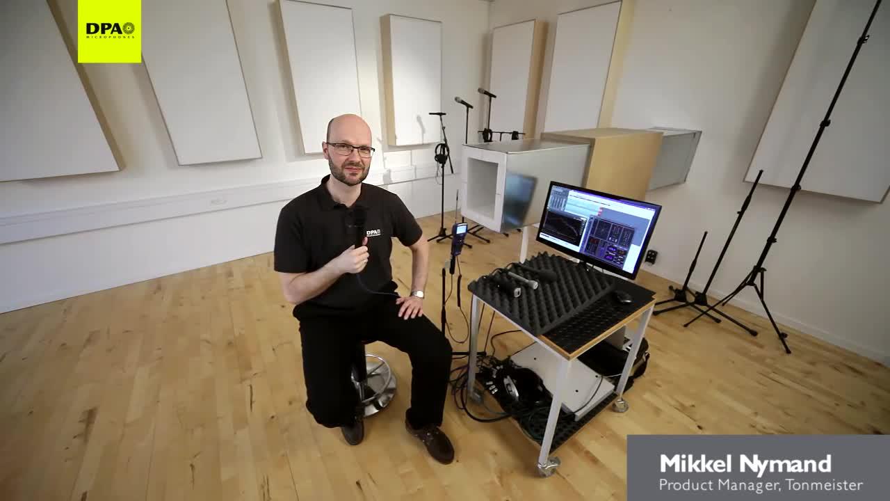 新款 dfacto II采访话筒声音与风噪测试