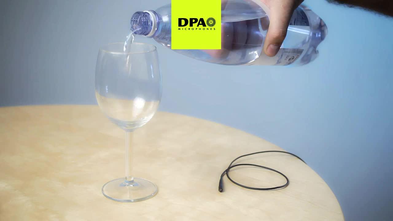 dscreet™ 麦克风抗压耐用性测试之水