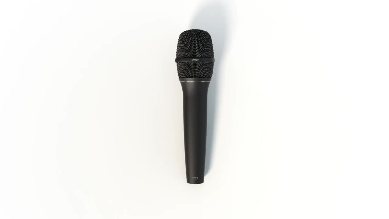 2028 Vocal Microphone - Built for life on the road