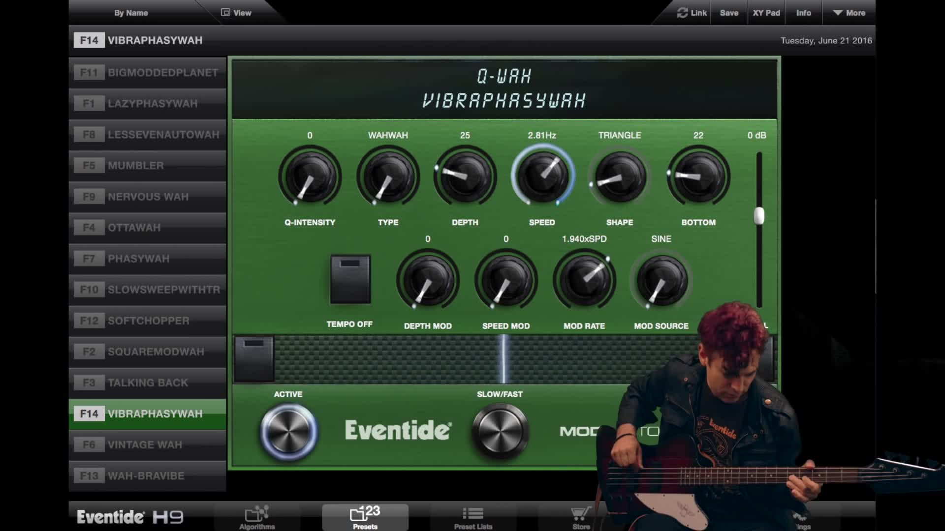 Eventide H9 + Bass (下)