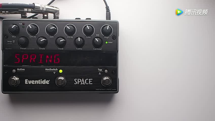 Eventide Space 混响吉他效果器演示