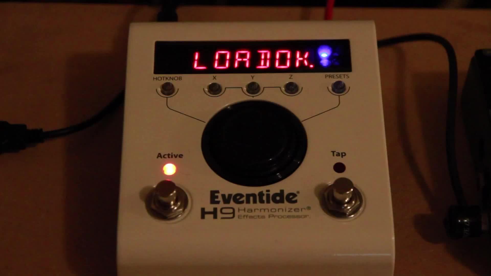 即兴展示Eventide H9和MixingLink