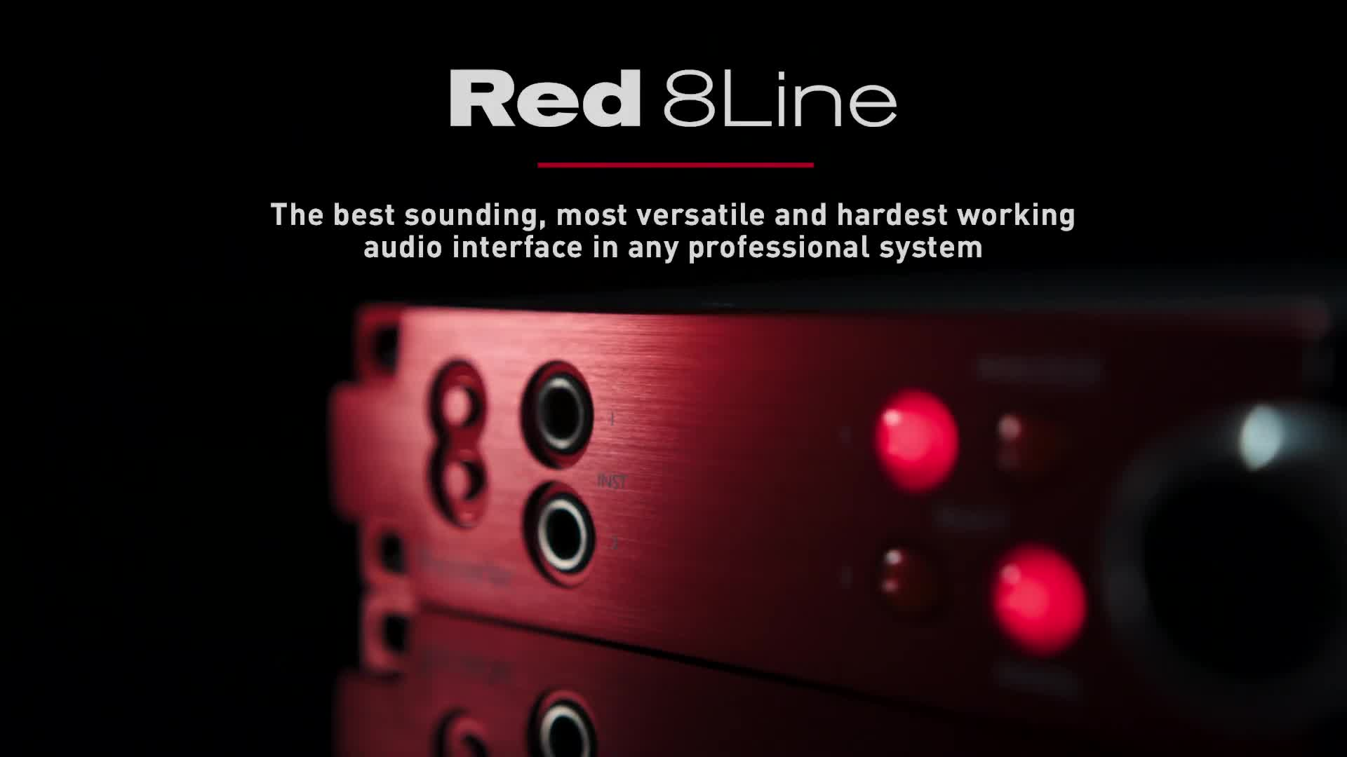 Red 8Line Focusrite Pro