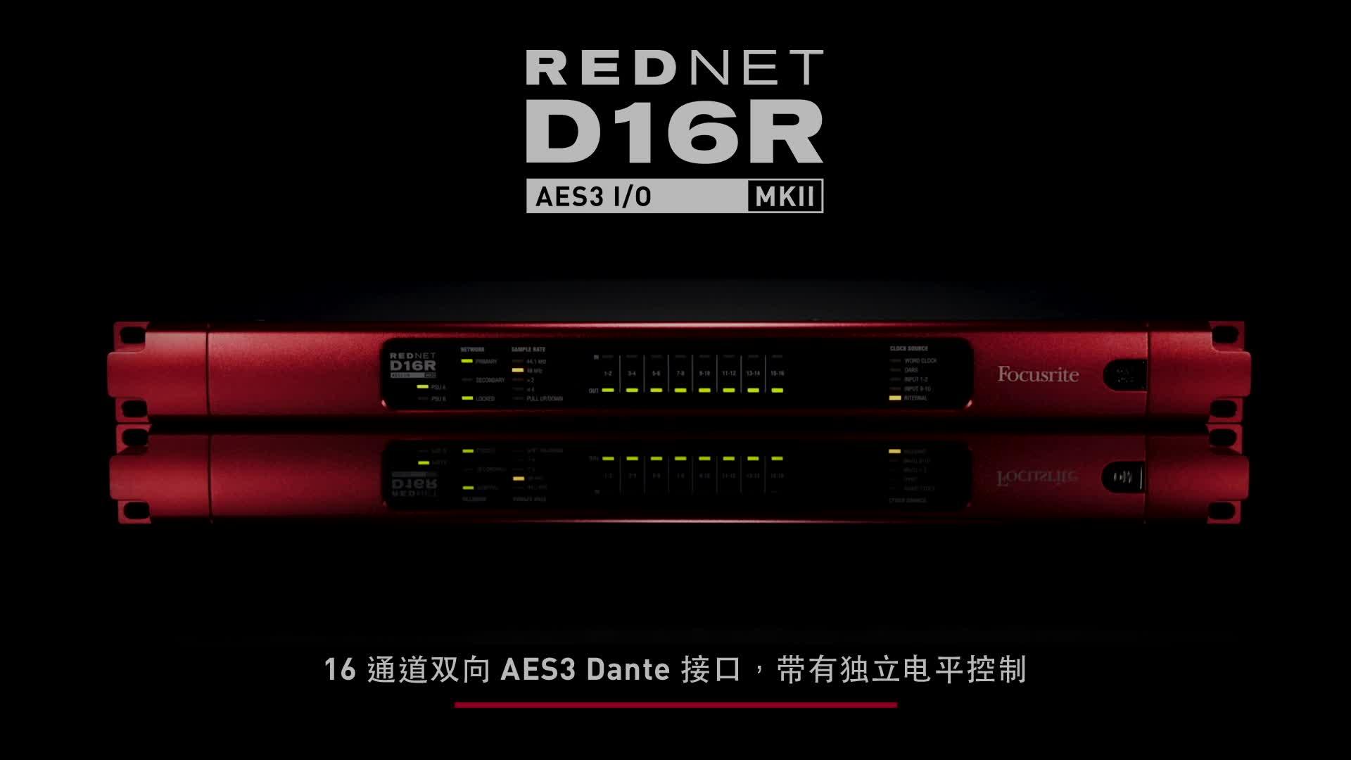Focusrite RedNet D16R