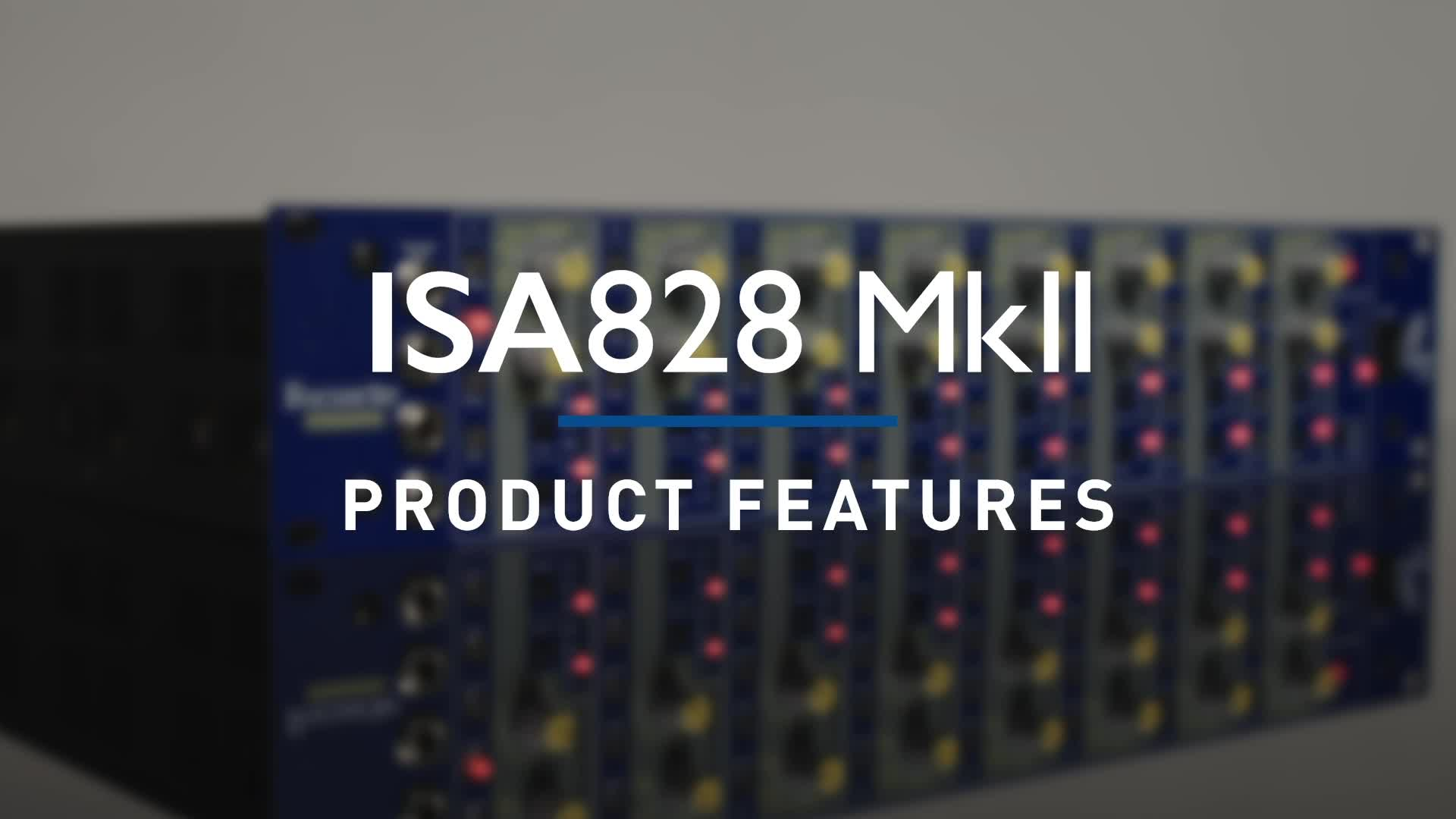 Focusrite - ISA828 MKII Overview