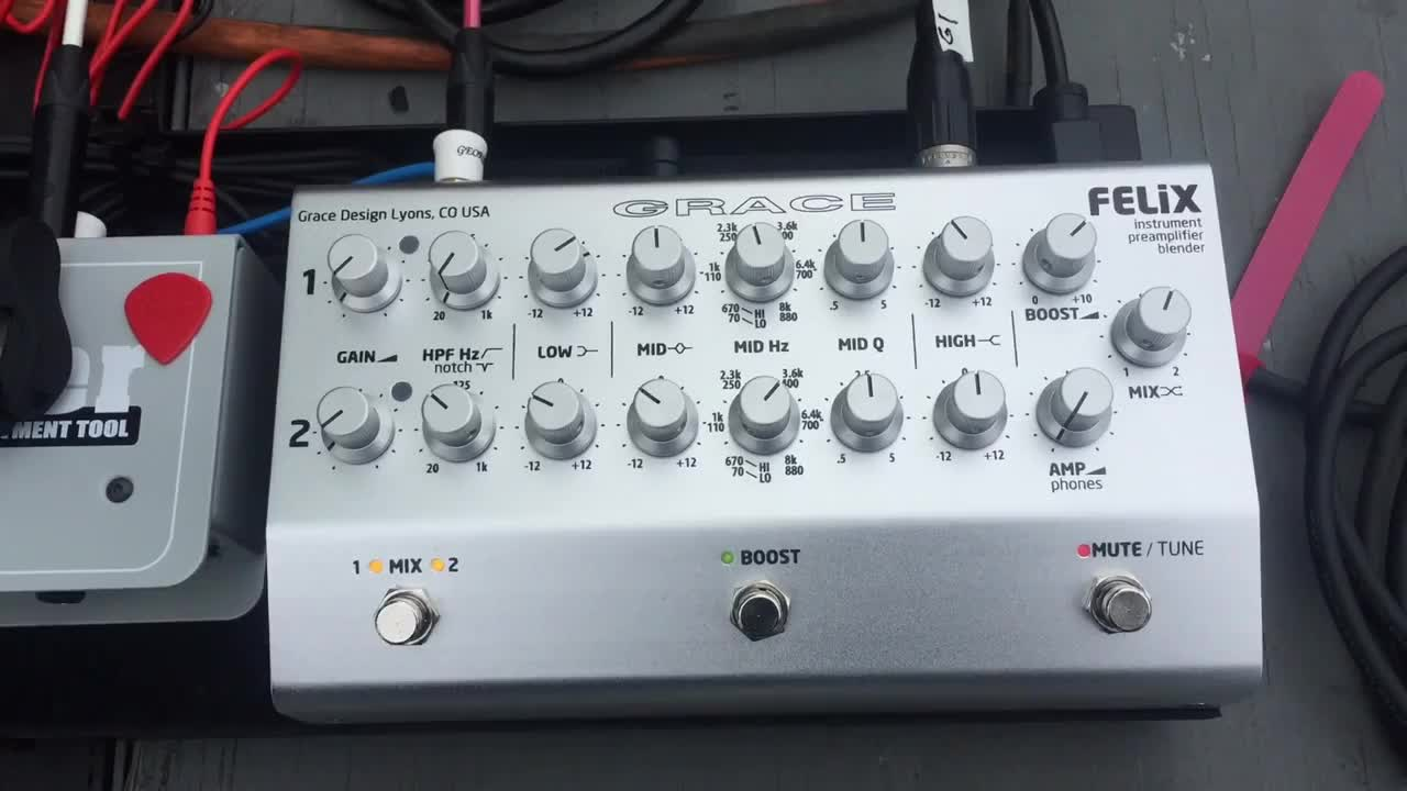 GRACE FELiX 原声乐器放大器介绍-Jim Stubblefield