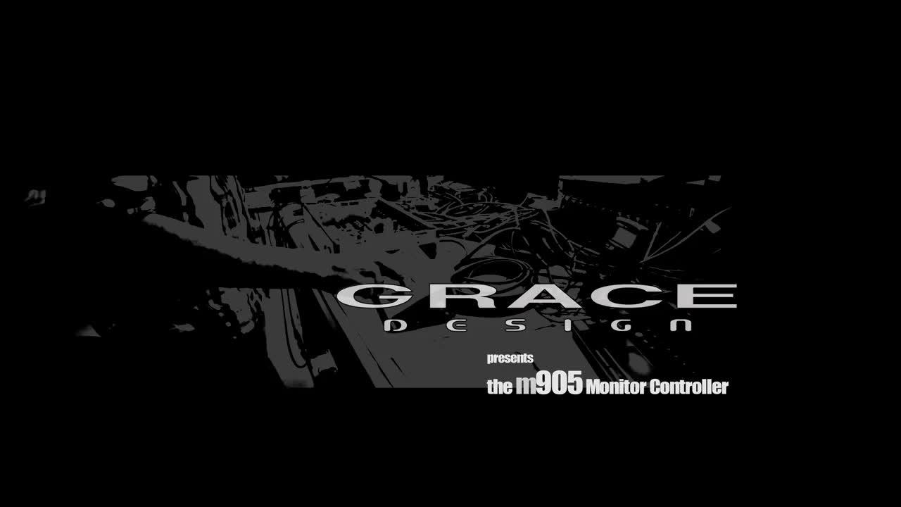 Grace Design m905 监听控制器介绍