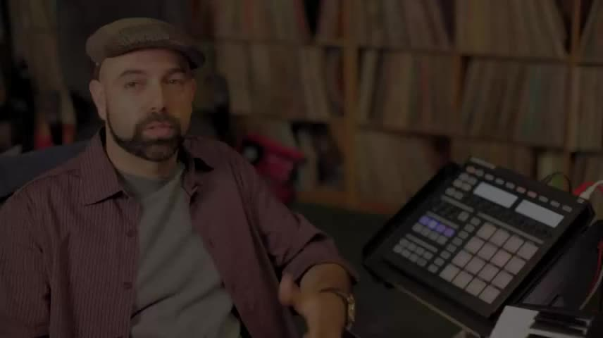 Jurassic-5 - DJ Nu-Mark using Maschine