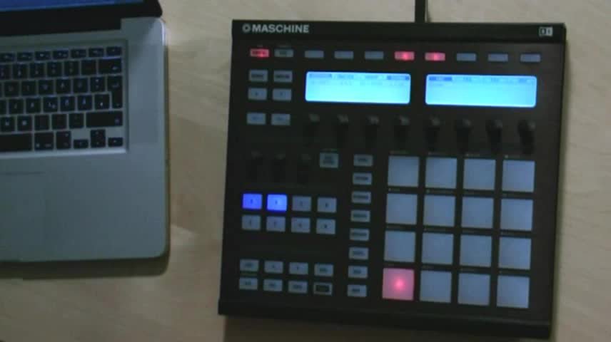 Maschine #12--Sampling P2