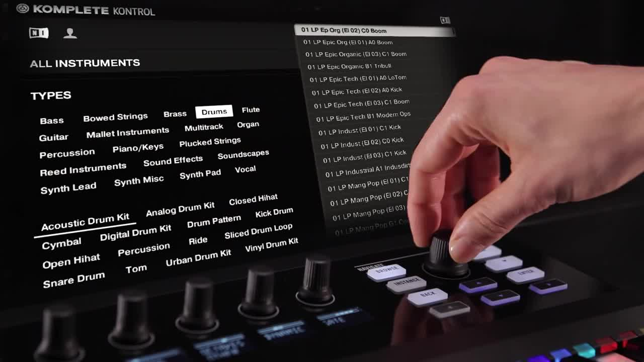KOMPLETE KONTROL S 键盘功能演示