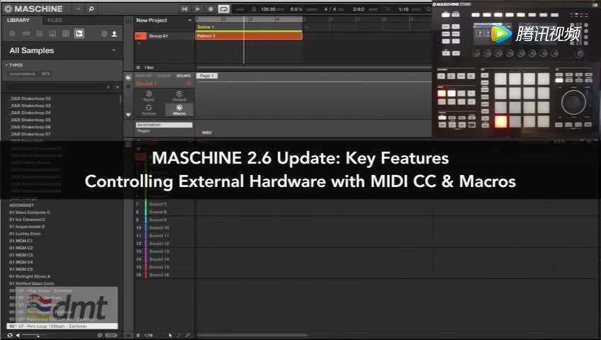 像插件一样管理硬件,Maschine 2.6给你更好的合成器管理方式