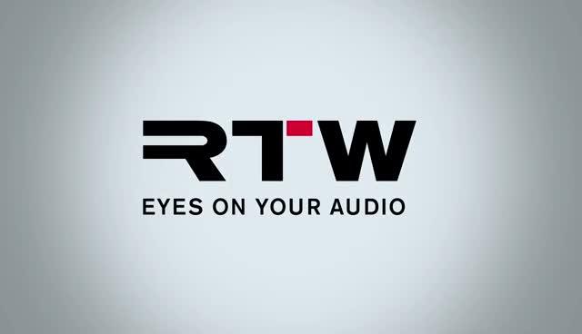 RTW eyes on your audio