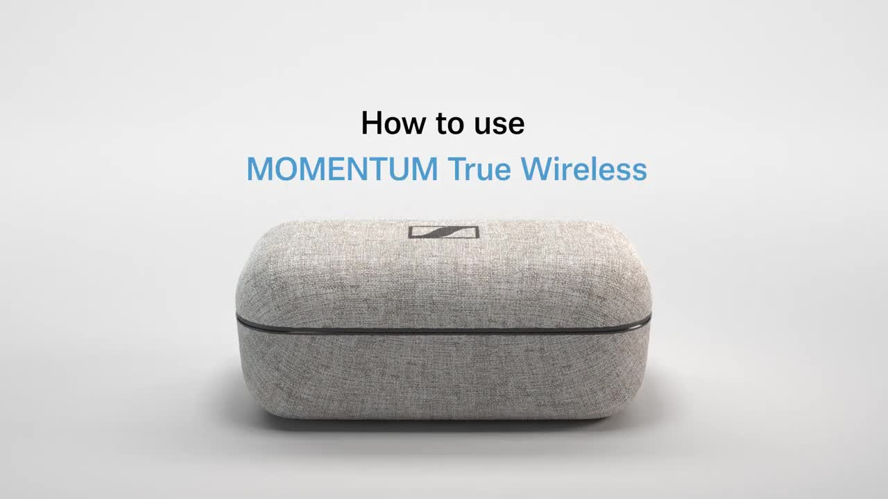 MOMENTUM True Wireless - How to use  Sennheiser