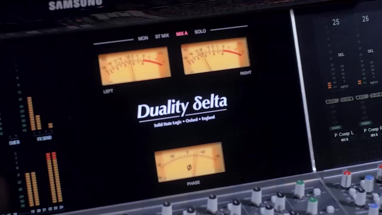 Going deeper with SSL Delta Control- Duality & AWS on board automation features