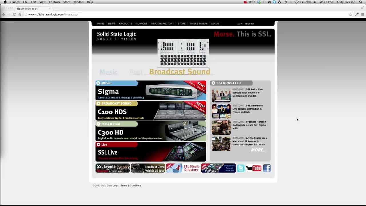SSL Matrix2 new features overview