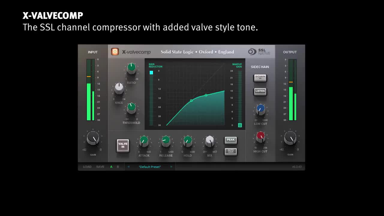 SSL Native X ValveComp