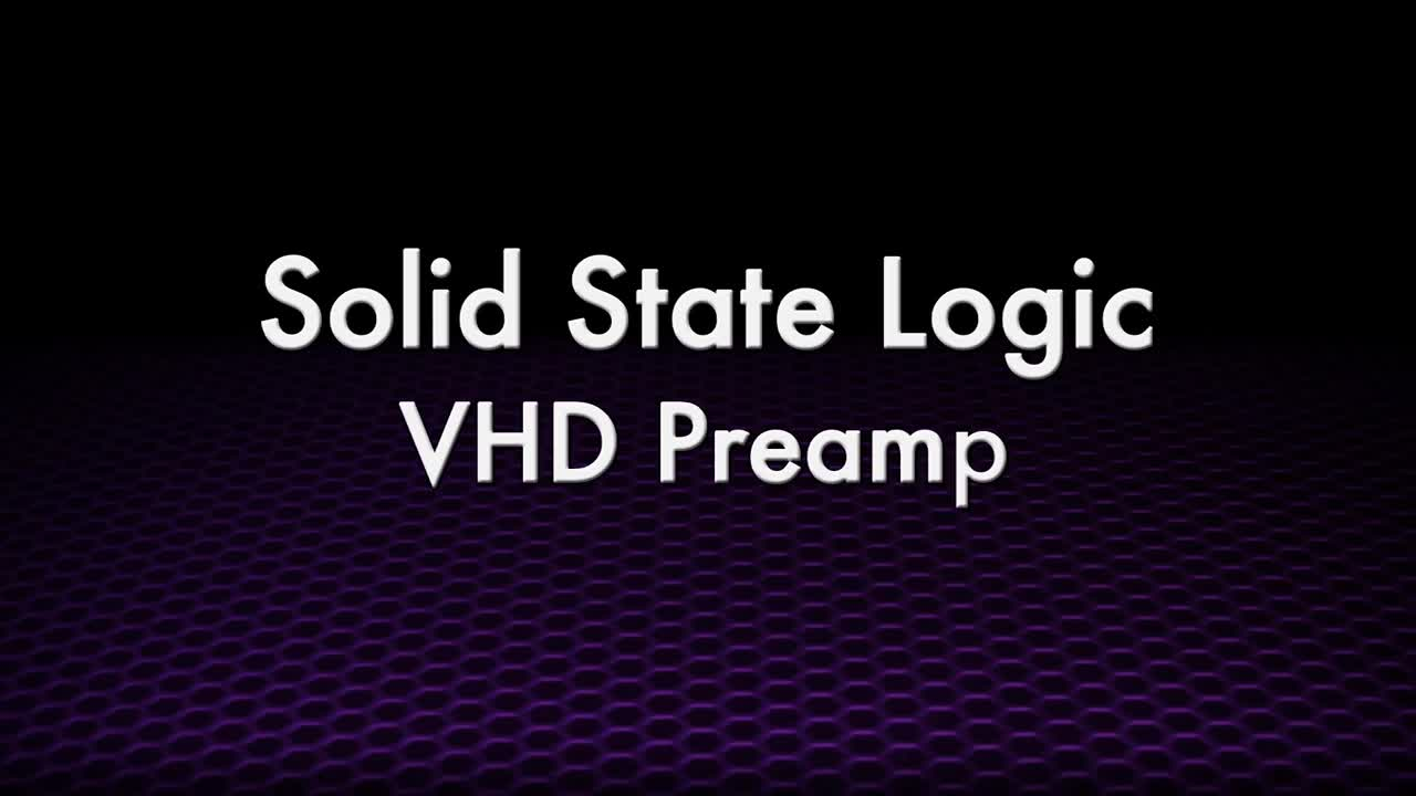 SSL VHD Four-Channel Microphone Preamp Overview - Full Compass