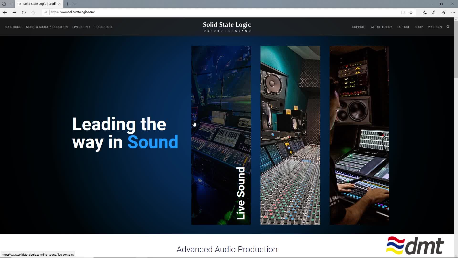 How SSL live uses solsa to edit performance files