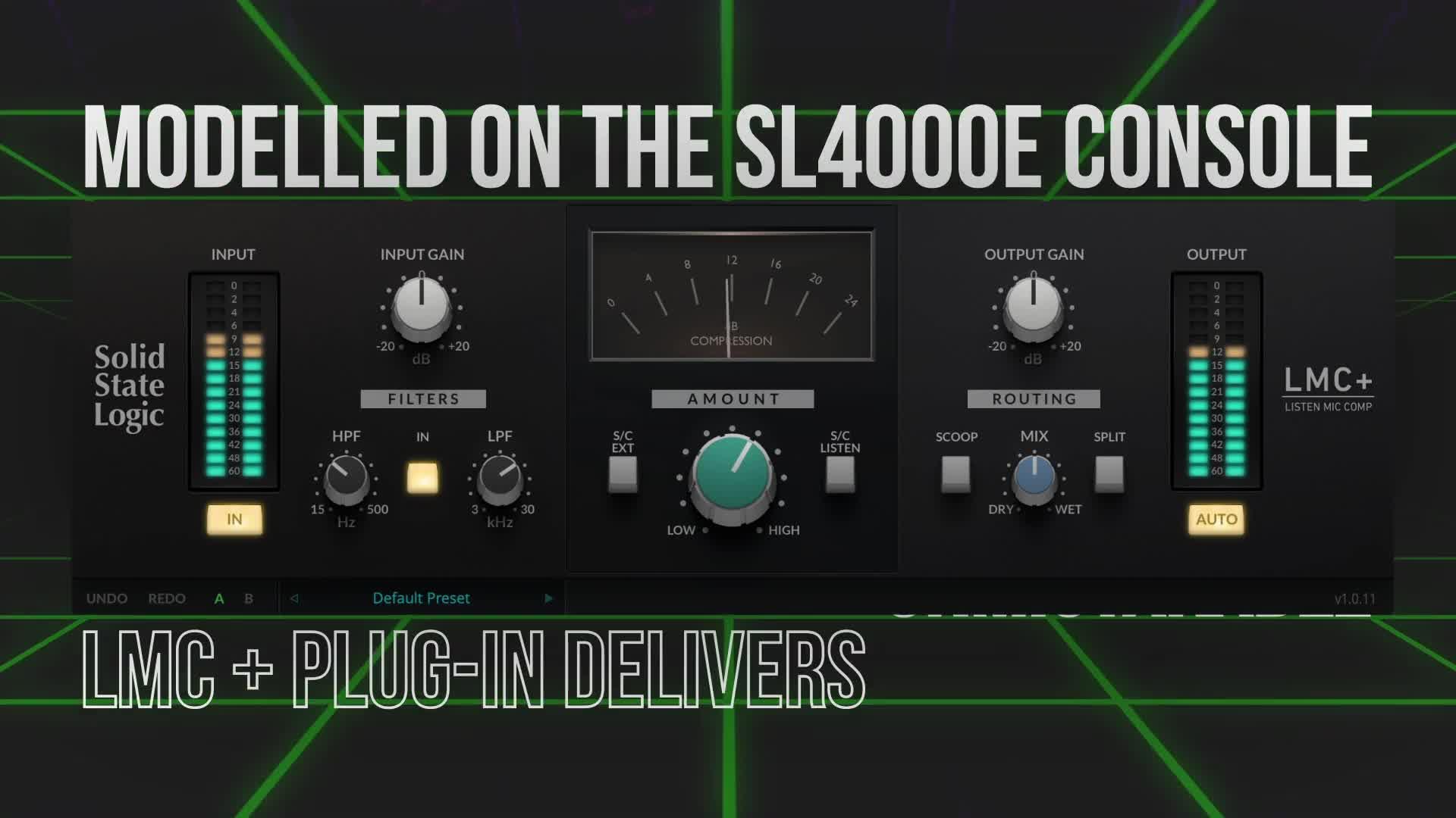 New SSL LMC+ Plug-in