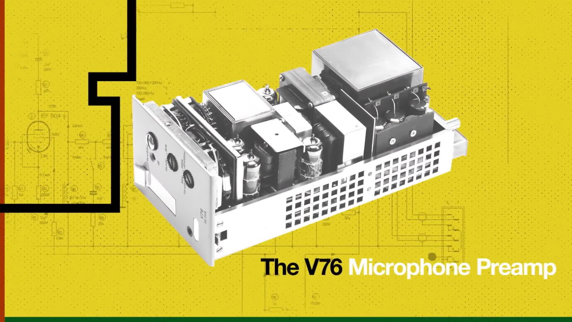 Hi-Fi Tube Perfection - UAD V76 Preamplifier Plug-In