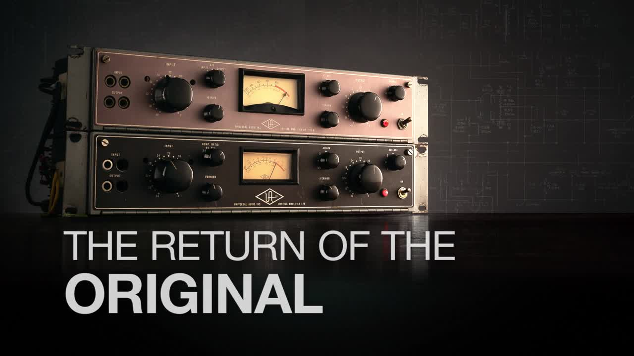 Return of the Original - UAD 175B & 176 Tube Compressor Collection