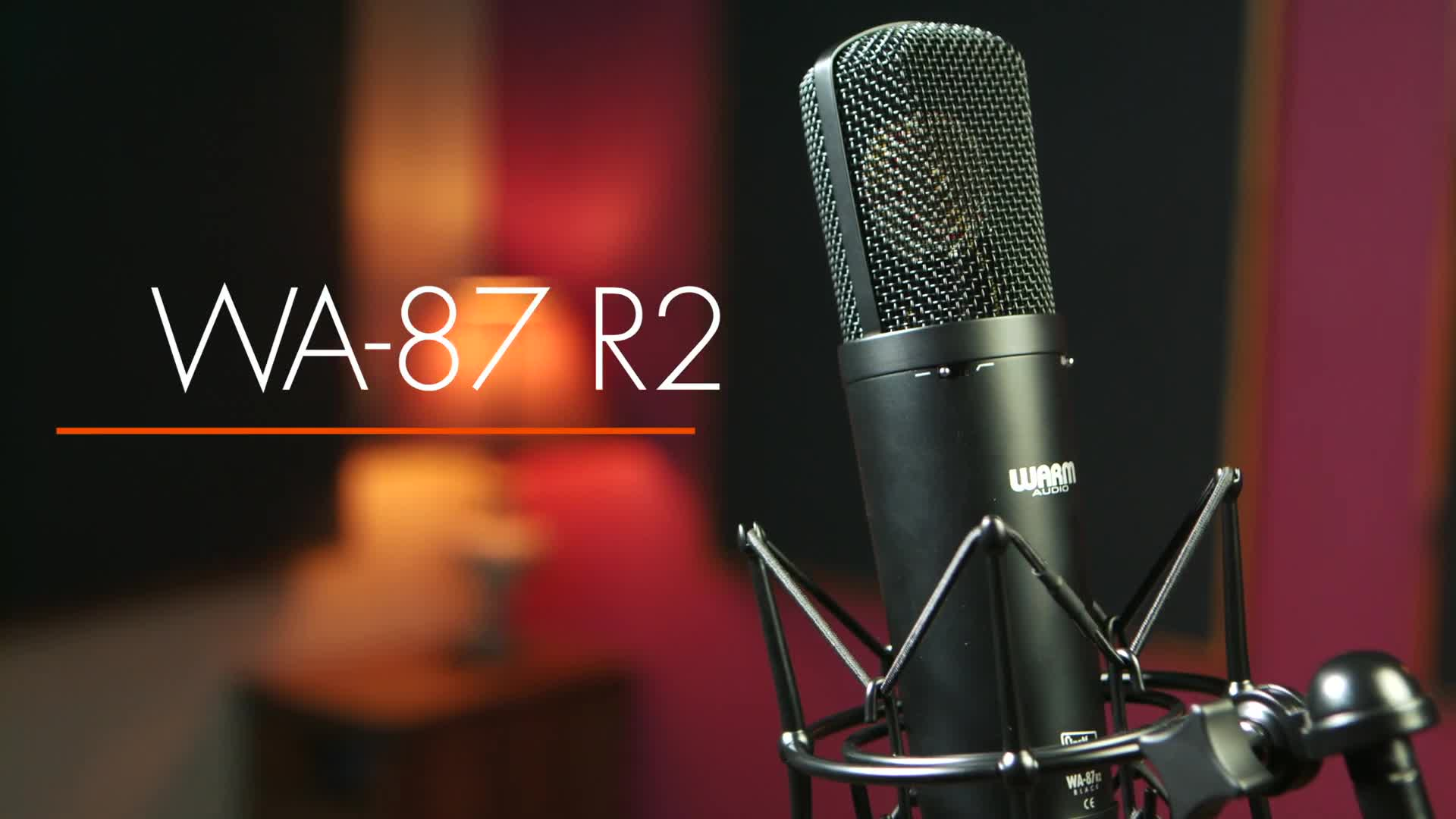 Introducing the WA-87 R2 Condenser Microphone - Ali Caldwell