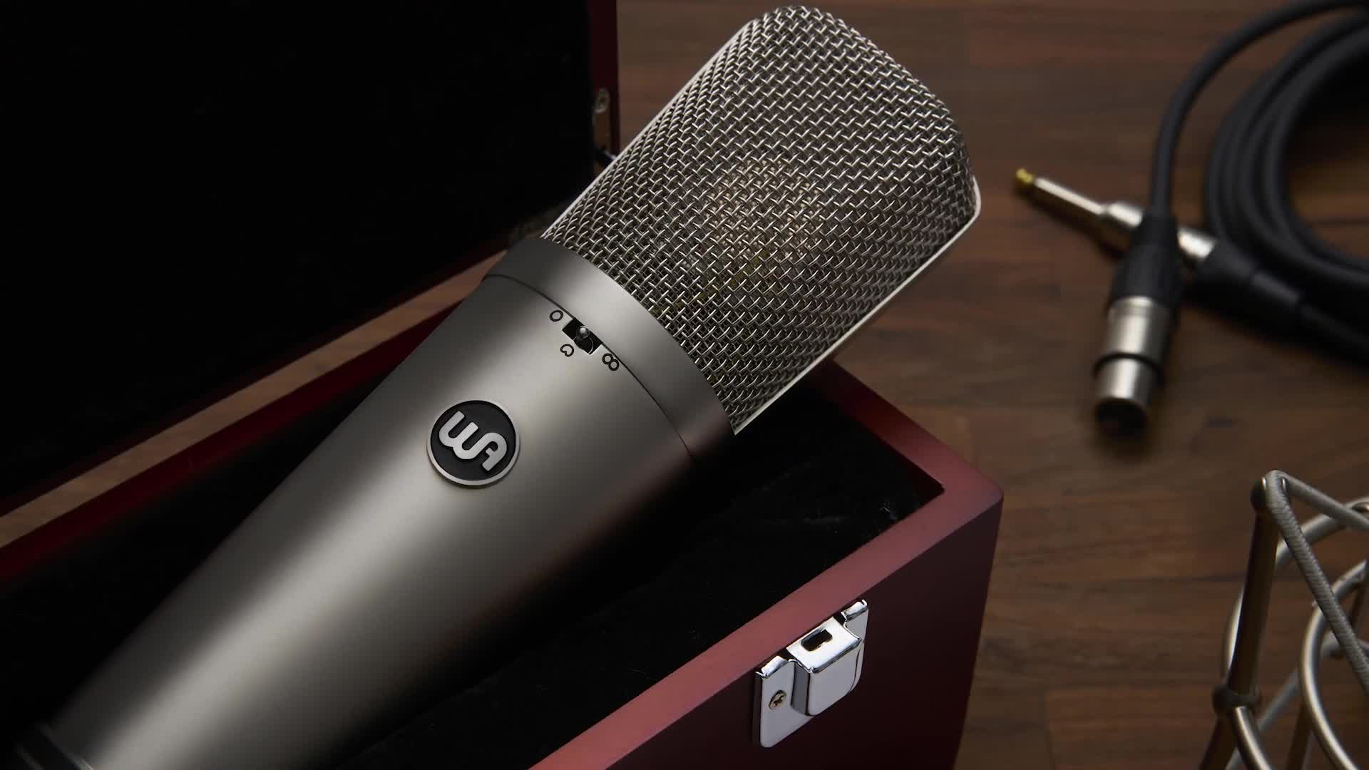 Introducing the WA-87 R2 Condenser Microphone